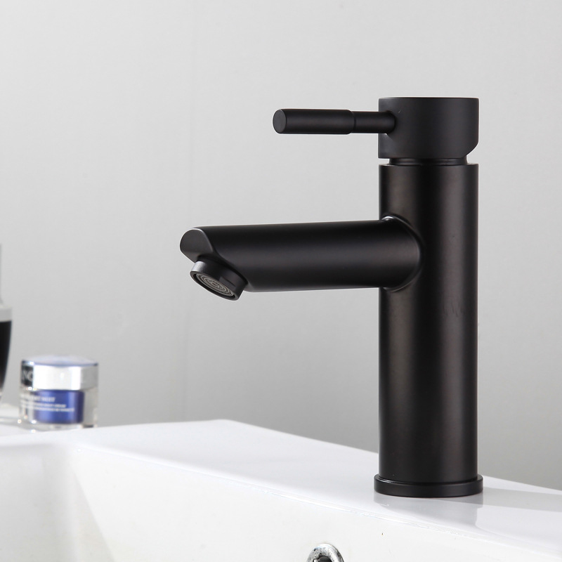 Mixer Matt Black Tap Cold Hot for Kitchen Bathroom Basin Sink Vanity
