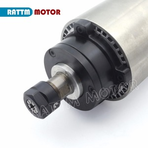 Image 5 - 【DE free VAT】 1.5KW Air cooled Spindle motor ER16 80x200mm 220V 8A 4 Bearings for CNC Router ENGRAVING MILLING Cutting Machine