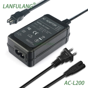 AC-L200 Power Adapter Charger for Sony Handycam AC-L200B FDR-AX700E FDR-AX60 FDR-AX45 HDR-CX680 FDR-AX100 FDR-AX100E фото