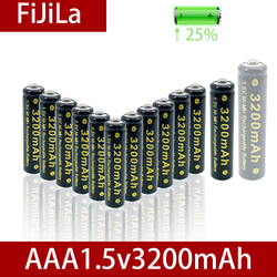 2021NEW1.5V AAA NI MH Rechargeable AA Battery Alkaline 3200mAh For Torch Toys Clock MP3 Player Replace Ni-Mh Battery