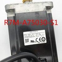 USED 100% TESTED R7M-A75030-S1 OMRON R7M-A75030-S1 AC SERVO MOTOR R7M-A75030-S1