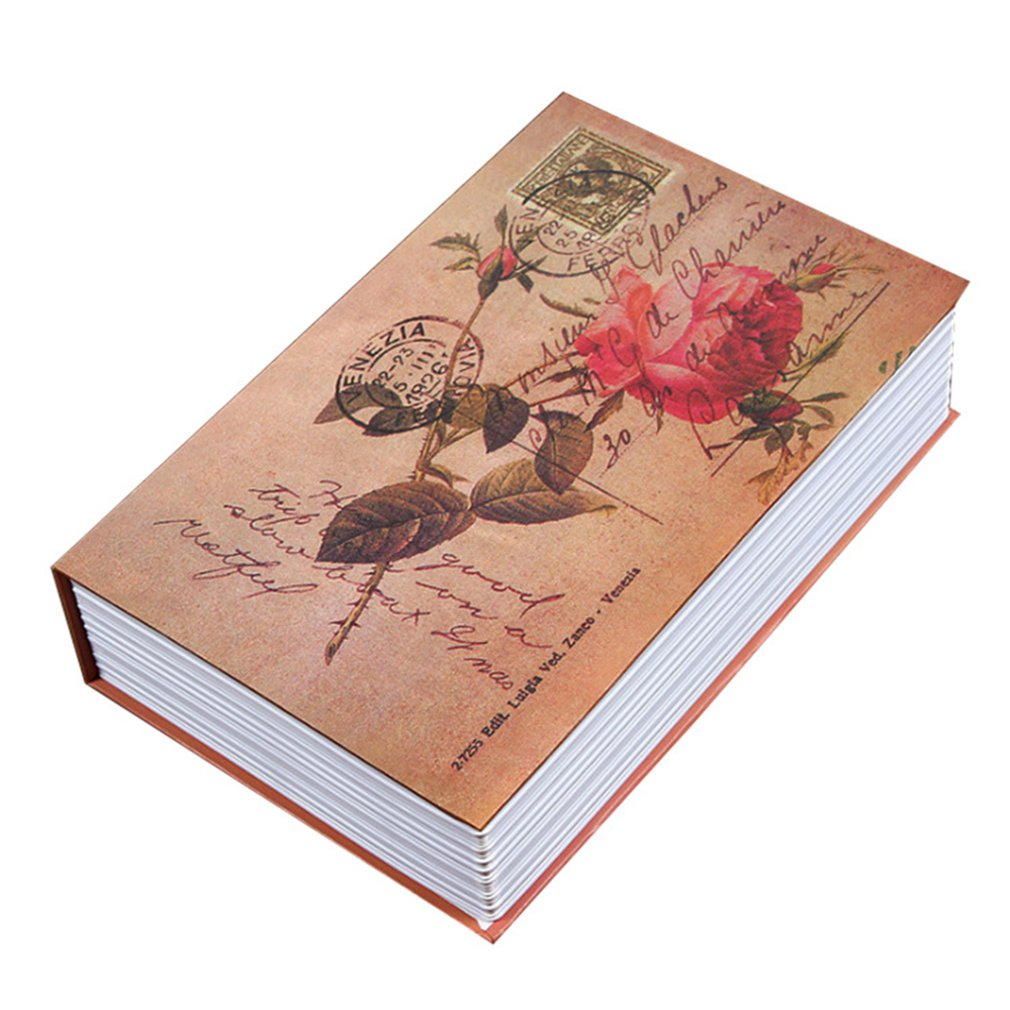 Exquisite Creative Book Safe Creative Book Insurance Box Money Box Book Small Key Box Creative Storage Box Gift