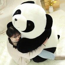 цена на Hot Huggable Kawaii Stuffed Panda Doll Plush Animal Toy Soft Panda Lifelike Plush Toys Baby Kids Playmate Children Birthday Gift