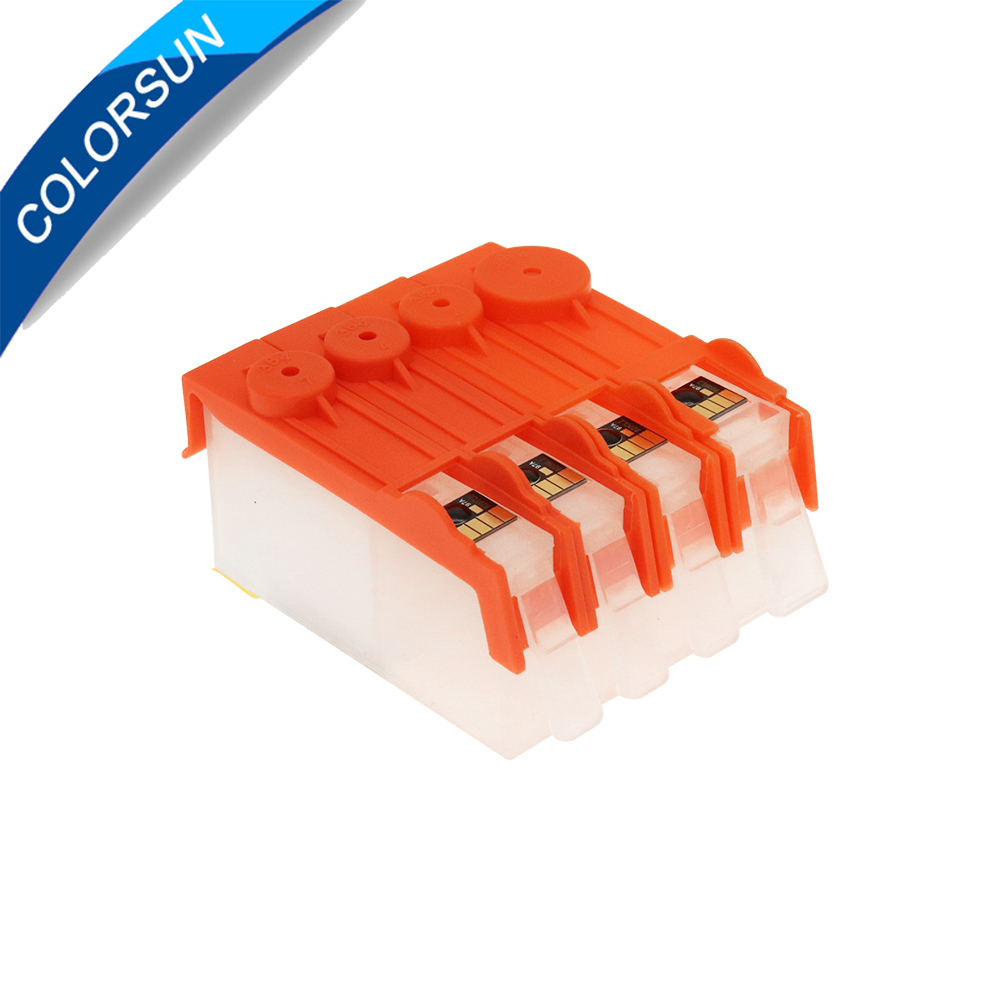 Colorsun 4pcs <font><b>refillable</b></font> Ink cartridge for <font><b>HP</b></font> <font><b>903</b></font> 904 902 for OfficeJet 6950 6956 OfficeJet Pro 6960 6970 with ARC chips image