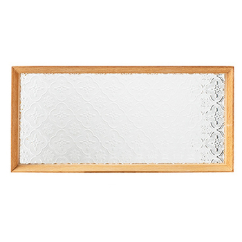 Begonia szkła drewniane biurowe biurko szkoły kreatywne na biurko akcesoria biurowe taca Organizer na biurko do układania w stosy zestaw papeterii tanie i dobre opinie QKGQK KC271 Drewna Biurko zestawy