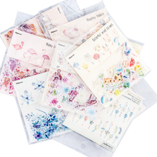 40pcs/pack Romantic Small Special Oil Sticker Package Creative Ten Selections Scrapbooking Label Stickers