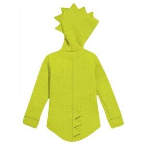 Image 3 - 1 7 T Jungen Mädchen Hoodies Frühling Herbst Oberbekleidung Kinder Dinosaurier Mit Kapuze Sweatshirt Kleidung Kinder Langarm Pullover Tops mantel