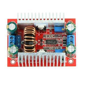 Image 3 - Convertisseur de poussée de 400W 15A DC DC intensifient le régulateur de tension dalimentation de transformateur de puissance constante dissipateur thermique 8.5 V 50 V à 10 60V