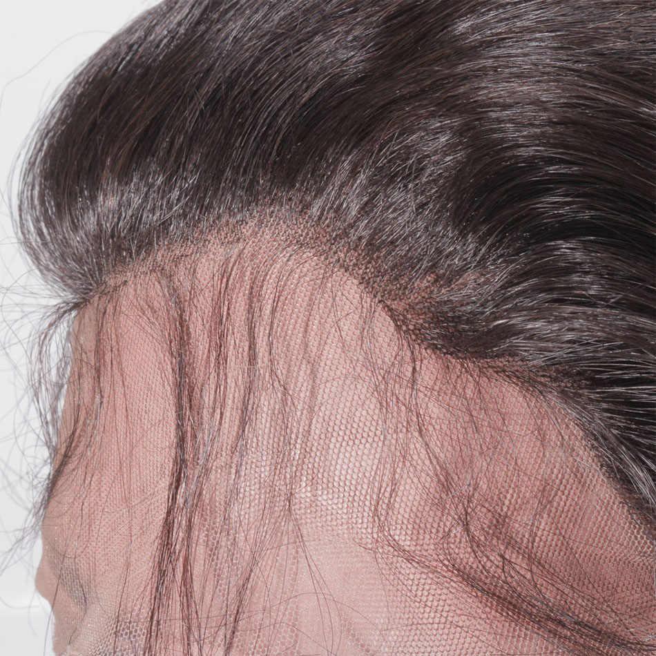 8 do 30 Cal blond 613 pełna koronka ludzkich włosów peruka wstępnie oskubane z dzieckiem włosy prosto fala brazylijski Remy włosy dla czarnych kobiet