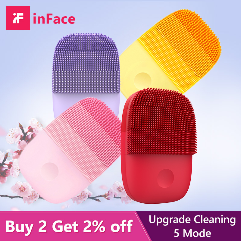 Face Cleansing Brush Electric Face Cleanser Facial Cleanser For Xioami InFace Skin Deep Washing Silicone Massage Brush
