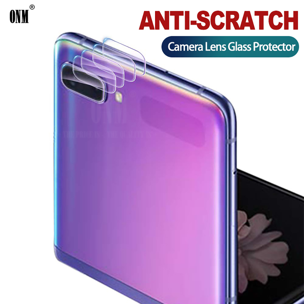 Camera Lens Tempered Glass For Samsung Galaxy Z Flip Screen Protector For Samsung Galaxy Z Flip Back Camera Lens Glass Film
