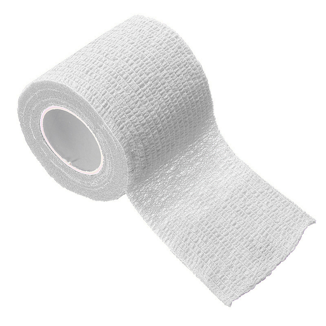 2.5cm*5M Self-Adhesive Elastic Bandage First Aid Medical Health Care Treatment Gauze Tape Emergency Muscle Tape First Aid Tool 4