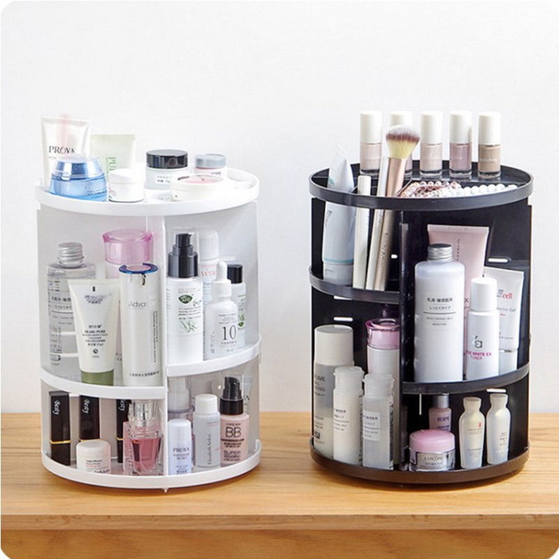 Spin Storage-Box Cosmetics Beauty-Organizer Makeup Detachable New Fashion 360-Degree title=