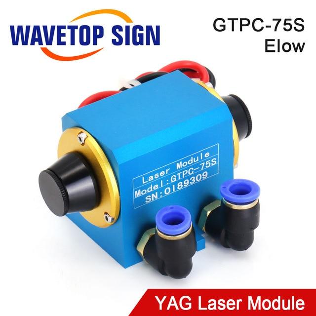 WaveTopSign GTPC 75S 75w Elbow YAG Laser Module GTPC 75S 90Degrees Laser Diode Pump use for YAG Laser Machine