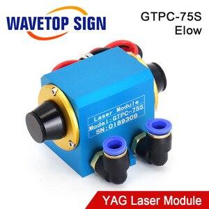 Image 1 - WaveTopSign GTPC 75S 75w 팔꿈치 YAG 레이저 모듈 GTPC 75S 90도 레이저 다이오드 펌프 사용 YAG 레이저 기계