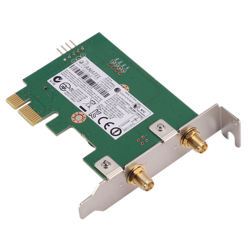 BCM94322HM8L DW1510 Dual Band 300M 802.11A/B/G/N 2.4/5G Desktop WIFI WLAN CARD With 2 Antennas For Win XP/7/8/MAC OS/Hackintos
