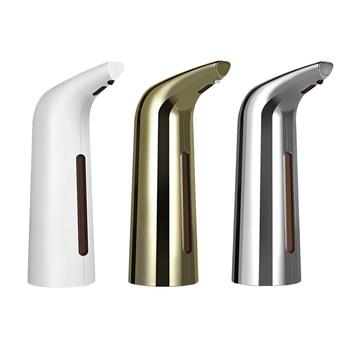 400ml Automatic Liquid Soap Dispenser Smart Sensor Touchless Electroplated Sanitizer Dispensador for Kitchen Bathroom Dropship
