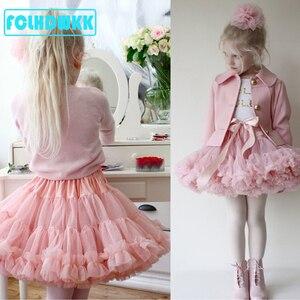 Детская фатиновая юбка для девочек, одежда для маленьких девочек, юбка-пачка, модная одежда для девочек, юбка принцессы, одежда для девочек
