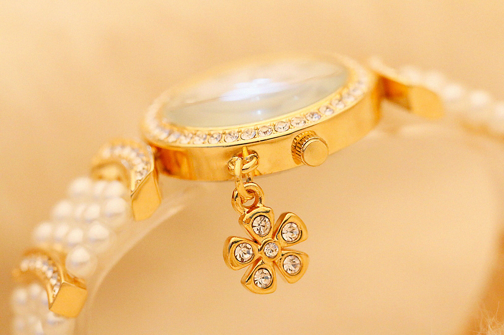 feminino relógio de pulso de luxo das senhoras