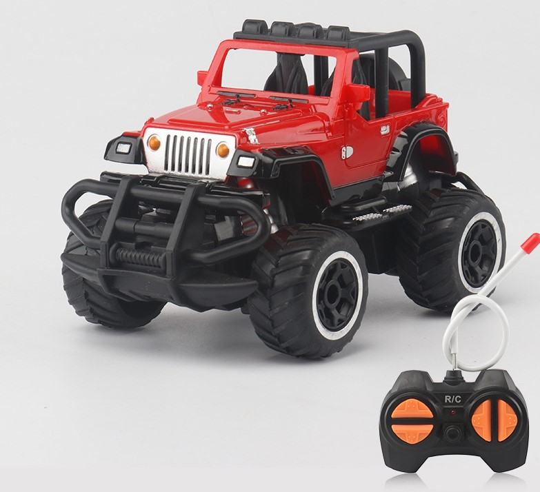 1:43 Mini Cars RC car Off-road 4 Channels Electric Vehicle Model Radio Remote Control Cars Toys as Gifts for Kids Wholesale Spot image