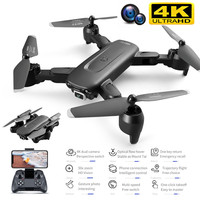 Dron 4K con cámara HD gran angular, 2021 P, WiFi, Fpv, flujo óptico, cuadricóptero RC, juguetes de helicóptero, novedad de 1080