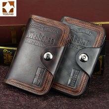 men's wallet magnetic snap clutch bag male wallet