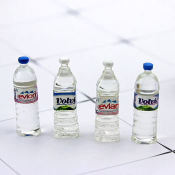 5Pcs RC Car Accessories Decoration Mini Mineral Water Bottle for 1/10 RC Rock Crawler Axial SCX10 TAMIYA RC4WD D90 TF2 Traxxas