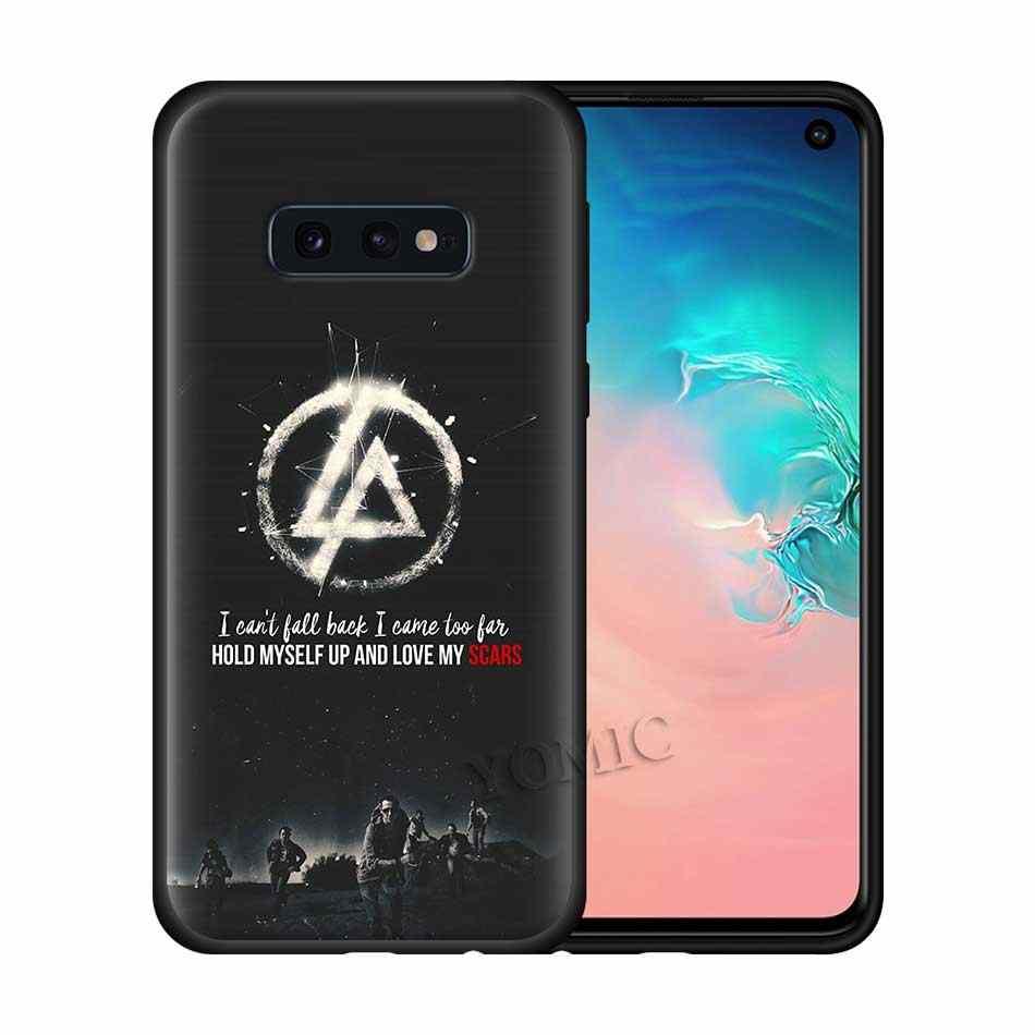 Linkin Park Silicone étui pour samsung Galaxy S10 S10e S8 S9 S7 Bord Note 10 5G Plus 9 8 Retour Housse De Protection pour Téléphone