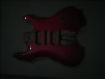 Afanti muzyka DIY gitara zestaw DIY gitara elektryczna ciała (MW-3-579) tanie i dobre opinie none not sure Nauka w domu Do profesjonalnych wykonań Beginner Unisex CN (pochodzenie) Drewno z Brazylii Electric guitar