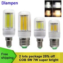 bombilla led corn bulb COB 5W 7W E27 E14 candle spotlight home lighting 110v 220v energy saving lamp high quality E 27 light