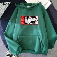Japanese Anime Another Hoodies Women Spring Autumn Streetwear Ulzzang Harajuku Hooded Pullover Japanese Fashion  Sweatshirt 1G