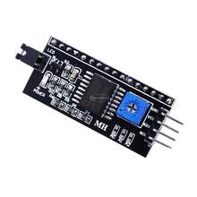Iic i2c twi spi placa de interface serial porta 1602 2004 lcd lcd1602 adaptador placa lcd módulo conversor adaptador pcf8574