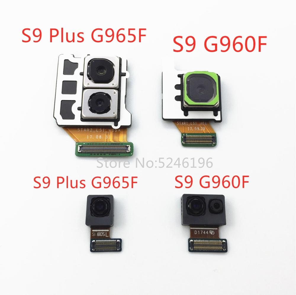 Back Big Main Rear Camera Front Camera Module Flex Cable For Samsung Galaxy S9 G960F G960FD S9 Plus G965F G965FD Replace Part.