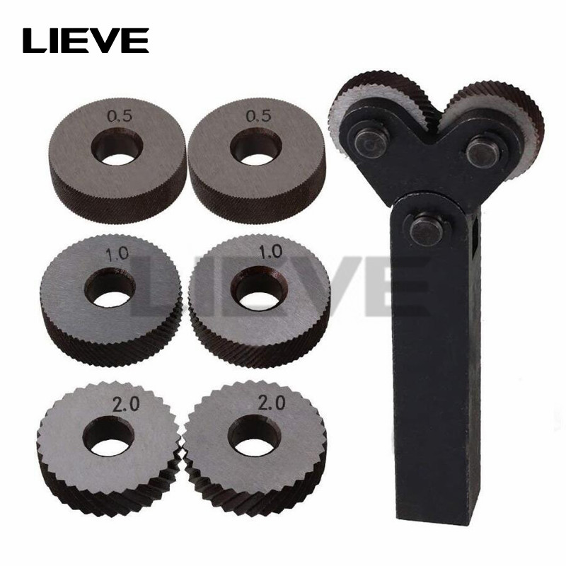 Набор инструментов для накатки с двумя колесами, 7 шт., 0,5 мм, 1 мм, 2 мм Наборы ручных инструментов    АлиЭкспресс