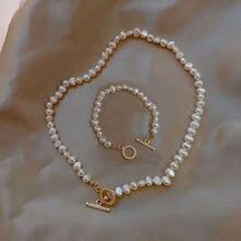 KMVEXO barroco Irregular perla Natural De agua dulce collar De palanca collar De las mujeres De invierno boda Collares joyería De Moda 2020