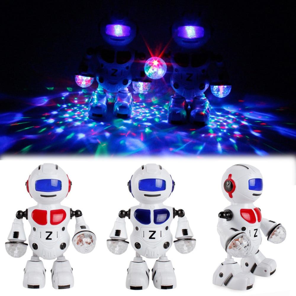 Electronic Walking Dancing Smart Bot Robot Astronaut Kids Music Light Toys 2018 Brusting Christmas Gifts NEW