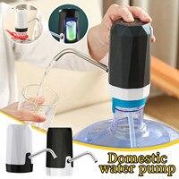 Dispensador de agua eléctrico portátil, dispositivo inalámbrico inteligente para tratamiento de agua con luz