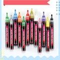 Высококачественный акриловый маркер для рисования 12 цветов, маркер для рисования граффити, для рисования камня, стекла, керамики