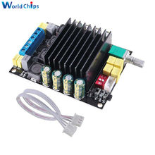 Placa de amplificador de Audio TDA7498 Clase D 100W + 100W Dual CH potencia Digital AMP estéreo HIFI placa de sonido para altavoz de hogar PC
