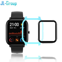 Amazfit GTS Protector Case with Film for Huami amazfit GTS Watch Protection Glass Accessories Bumper Screen Cover Case