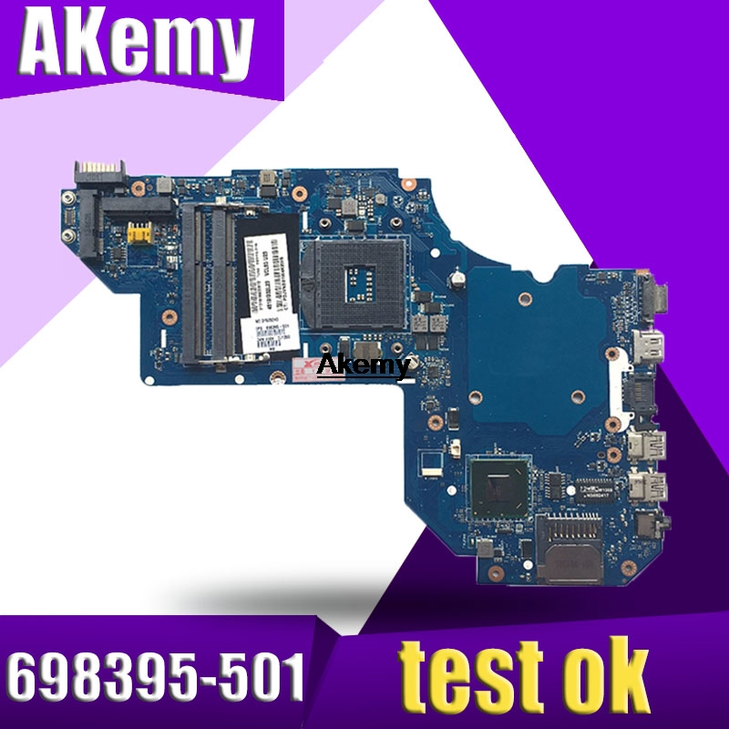 698395-501 For HP M6 M6-1000 M6-1125dx Laptop Motherboard LA-8713P 698395-001 100% Full Tested OK Free Shipping