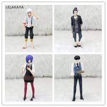Tóquio ghoul anime figura de ação kaneki ken juzo suzuya rei uta touka kirishima realista ver modelo pvc coleção boneca 12 15 15cm