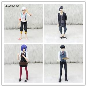 Image 1 - Tokyo Ghoul Figurine danime Kaneki Ken Juzo Suzuya Rei Uta Touka Kirishima Réaliste Ver Modèle PVC Poupée de Collection 12 ~ 15cm