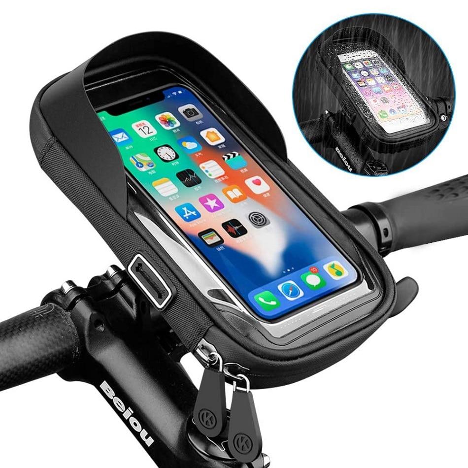 Водонепроницаемый держатель для телефона на велосипед/мотоцикл, 6,4 дюйма