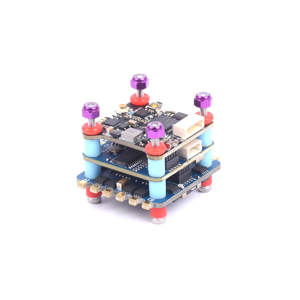 UFOFPV F405 Mini Fly Tower F4 Flight Controller Tower OSD BLHELI-S Dshot600 4in1 ESC 20A 2-4S FPV Flight Tower 40CH 200mw VTX