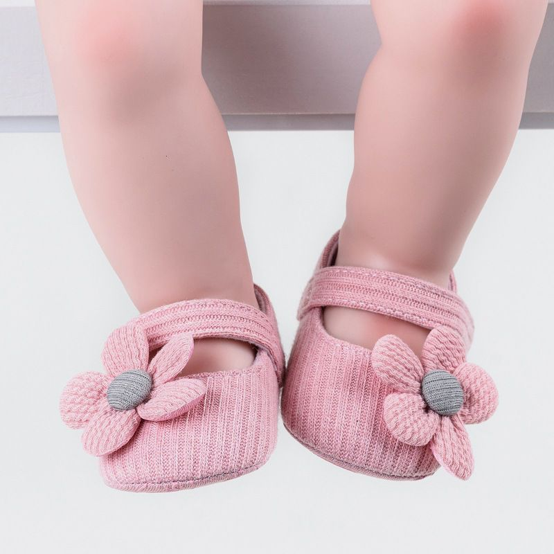 New1 Pair Fashion Baby Girls  Cute Cartoon Non-slip Cotton Toddler Floor Socks First Walker Shoes For Newborn Baby 0-18Months