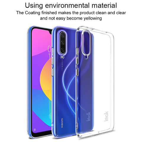 For Xiaomi MIA3 MI A3 9 Lite CC9e CC9 Case Imak Hard Plastic Phone Cases Transparent Clear Protective Back Cover crystal shell Lahore
