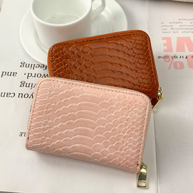 2019 Superior Quality Crocodile Pattern Multifunction Women Men Card Holder Wallet Driver License Card Bag ID Credit Cards Case
