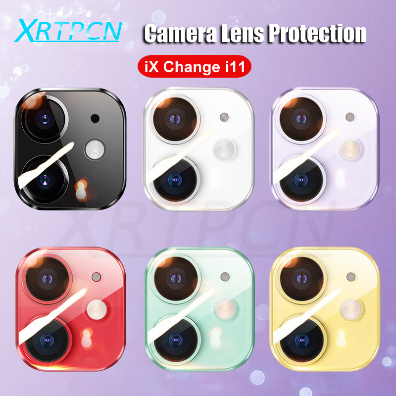 9D Full Lens Screen Protector For IPhone XS XR X Xs Max Camera Cover Case Change To For IPhone 11 Pro Max Tempered Glass Film