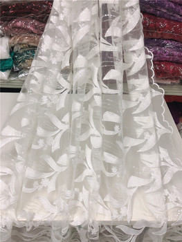 Good looking flowers embroidery french  lace fabric 5 yards flower lace fabric JRB- 20.41806 for party dress